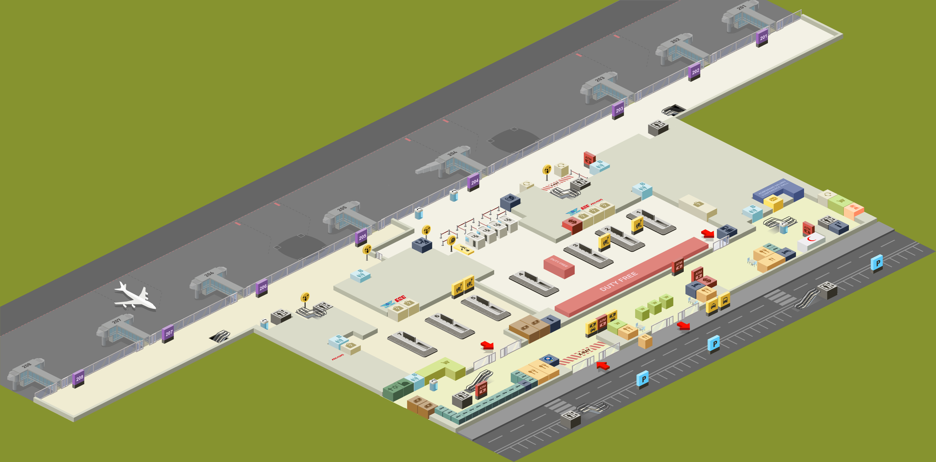 Floor Plan Of Terminal Plans